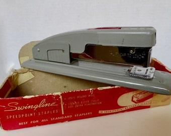 Vintage Swingline #400-S Desk Stapler Circa 1950's