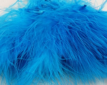 light blue Marabou feathers MRD-15 craft feathers wispy Craft feathers boutonnieres fly tying crafts