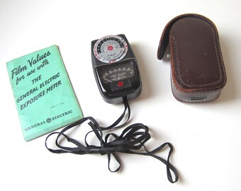 General Electric Light Exposure Meter DW-48