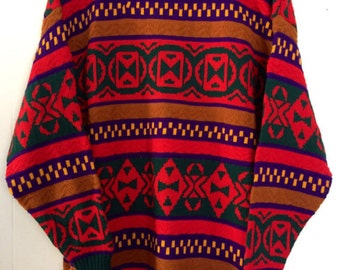 Vintage Tribal Sweater/Dress
