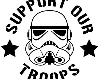 Support Our Troops | Star Wars | Storm Troopers | Disney | 6in