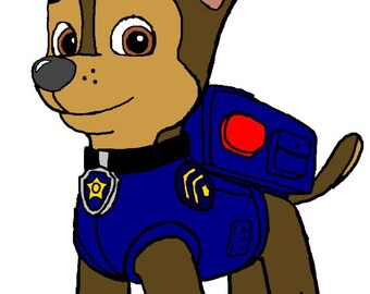 Paw Patrol Inspired Pup Chase SVG Digital Download