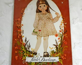 Little Darlings Enchanted Forest Dress Pattern, Toddlers, 101