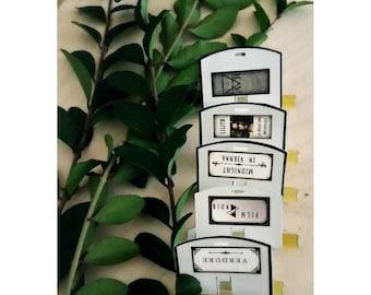 Scent Wardrobe, Botanical perfume samples, Artisan botanical Gift set, high-end organic botanical infused perfume