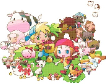 Harvest Moon Farmers & Animals