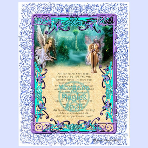 The Faeries Aine & Fennel Invocation