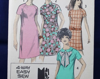 Sewing Pattern for a Woman's Dress in Size 14 - Maudella 5611