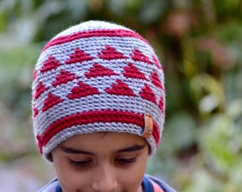 Instant Download - Strata Hat - PATTERN ONLY