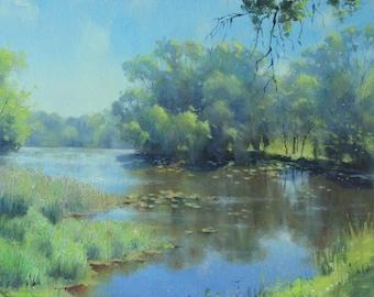 Art Painting on Canvas Wall art OOAK