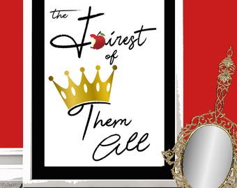 Fairest of then All Printable