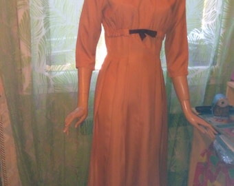 Dress handmade 1950's! perfect condition