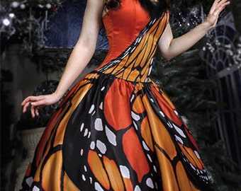 Dress Butterfly inspired by butterflies long dress for any occasion perfect for wedding