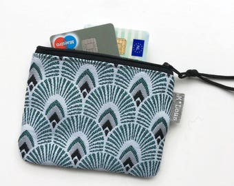 coin purse little zipper pouch coin pouch small wallet vegan boho zipper purse tiny wallet travel pouch retro purse vegan purse byMlous