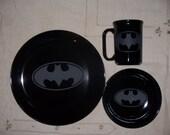 Custom Batman Dinnerware & Items similar to Custom Batman Dinnerware on Etsy