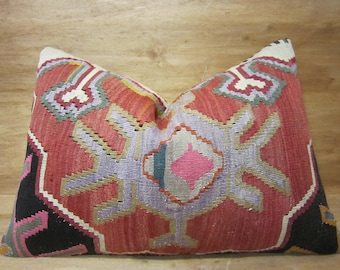 Decorative Pillow,kilim Pillow,home Living,home Decor,vintage,pillow,