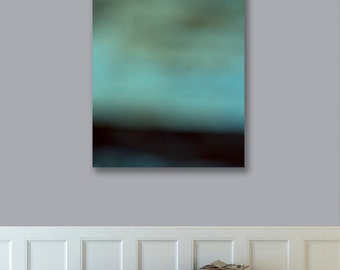 Ready to Hang Abstract Photography Landscape, Canvas Print, 24x30 Large Landscape Print,  Modern Art, Abstract Photograph, West Elm Artist