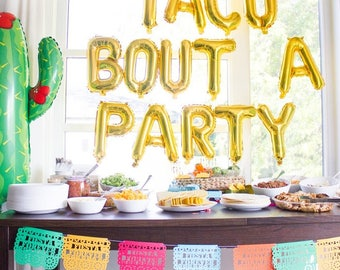 Papel Picado Banner, Fiesta Birthday Party, Mexican Wedding, Fiesta Decoration, Cinco de Mayo, Fiesta Banner, Bachelorette Party, 1 Banner