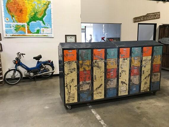 FREE Shipping LYON Double Sided LOCKERS School Locker