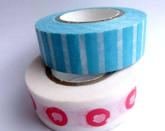 Washi Paper - Masking Tape set of 2 x 12 m