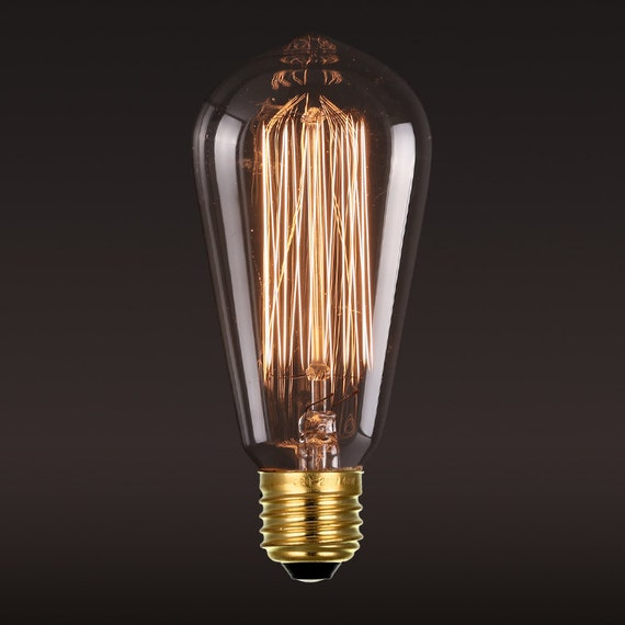 Edison e27 squirrel cage filament light bulb edison bulb 110v - Ampoule e27 40w ...