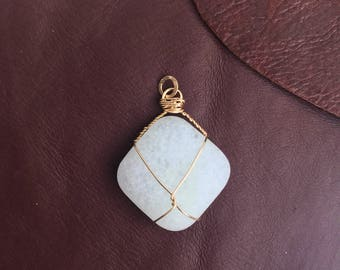 Identity Stone Pendant Necklace