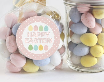 Happy Easter Stickers Holiday Sticker Set of 20