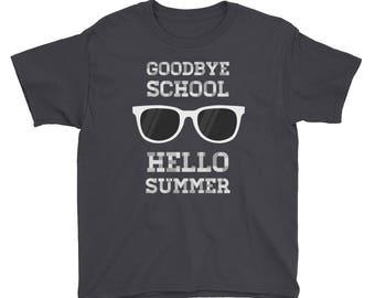 Youth Last Day of School Shirt - Kindergarten Shirt - School - Shirt - Graduation Shirt - End of School Shirt - Preschool Shirt