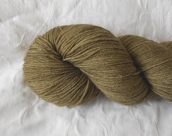 Bronze sock yarn