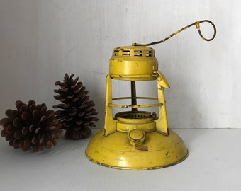 Railroad Lantern * Yellow Railroad Lantern * Vintage Railroad Lantern *  Decorative Lantern * Barn Lantern