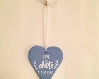 Save the date hanging wall decoration