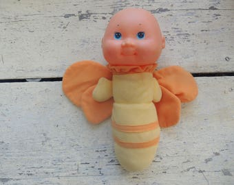 1985 Soma Traders glow butterfly doll- (head is supposed to light up)
