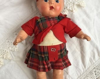 Vintage Highland Boy By Reliance, 13""