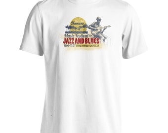 Jazz Club Havana Jazz and Blues 1954 Men's T-Shirt x849m