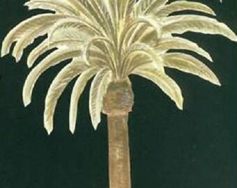 1 decoration pour les meubles ou les murs en papier peint préencollé Palmier