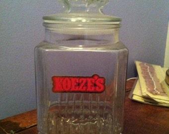 Vintage Koeze's Jar