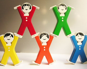 Acrobats - vintage toy 90s - The Netherlands