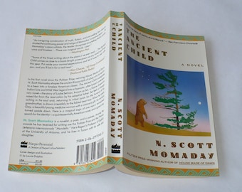 The Ancient Child, by N. Scott Momaday, Pulitzer Prize, Books,  Literature Fiction, Literary Fiction,Vintage Books, Old Books, Modern Books,