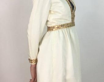Prom dress/Vintage Jay Kobrin for Maisonette/1960s 70s Jay Kobrin dress
