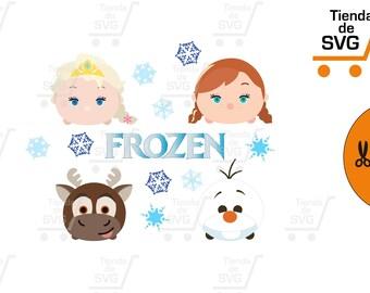 Frozen SVG, frozen Bundle, Frozen clipart, Frozen cut files, Frozen svg files for silhouette, files for cricut, svg, dxf, eps, cuttable