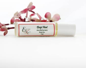 Deep Heat Aromatherapy Roll On, Essential Oil Roll On, Natural Aromatherapy