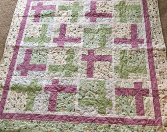 Topiary Tile Knomes quilt
