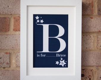 B is for Bryce - Giclée print