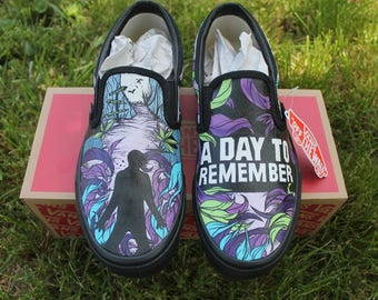 A Day To Remember - Custom Vans