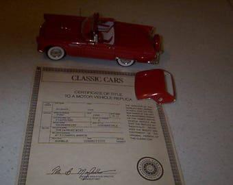 1956 Ford Thunderbird Diecast Model
