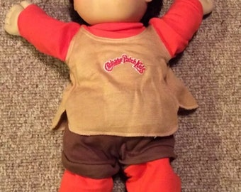 Vintage 1978; 1982 Cabbage Patch Kids Baby Boy- Appalachian Artworks/Coleco