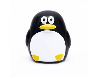 DIY Lip balm empty container - Penguin