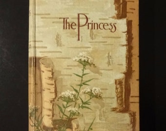 c. 1890's THE PRINCESS, Maud And Other Poems by Alfred Lord Tennyson, Thomas Y. Crowell, Very Good