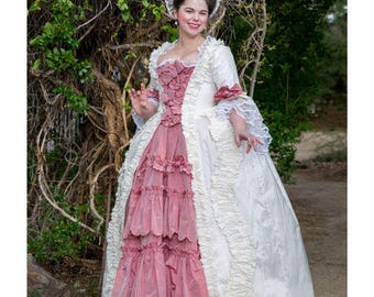 Simplicity Pattern 8578-Misses' 18th Century Gown with Petticoat- Plus Size 14-22
