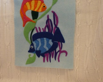 A4 Felt Undersea Wall Hanging/Picture