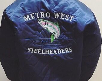 Retro bomber fishing coat